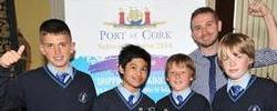 Port of Cork Schools Initiative looks at the Lusitania Centenary 2015