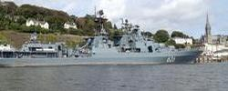 Russian Naval Vessel makes Courtesy Call to Cork