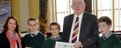 Crosshaven Boys Win Port of Cork Schools Initiative 2012