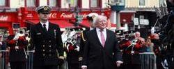 Port of Cork and Cunard commemorate Lusitania Centenary in Cobh, Co Cork